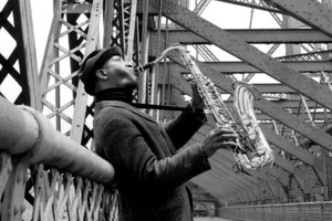Sonny Rollins (Foto: theparisreview.org)