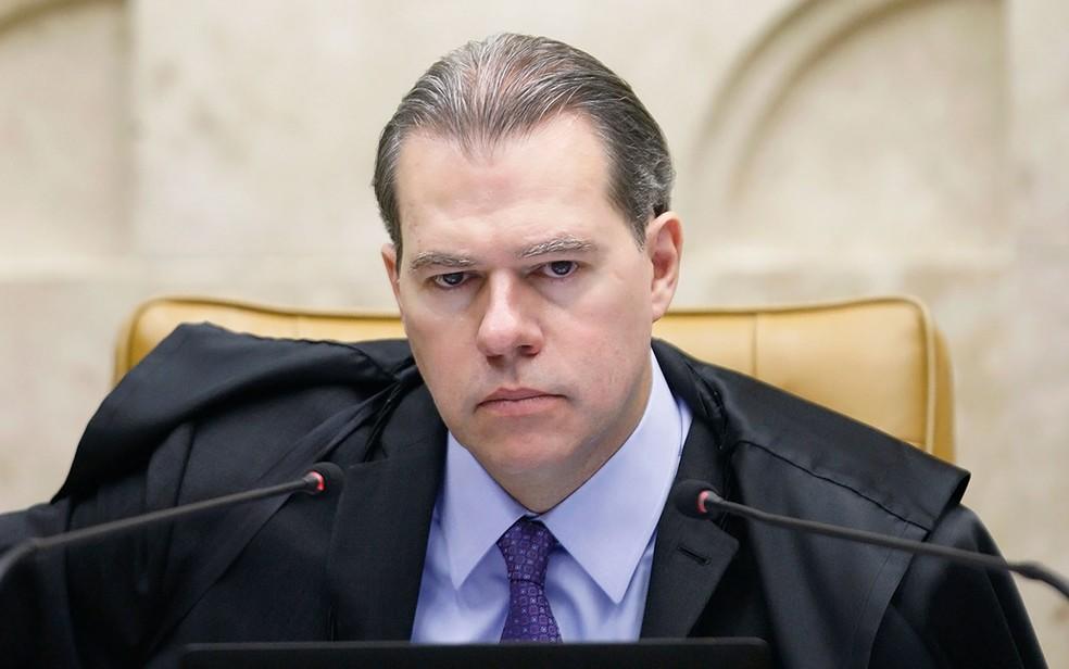 O ministro Dias Toffoli, presidente do STF — Foto: Rosinei Coutinho/SCO/STF