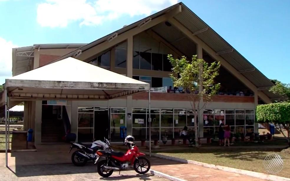 Restaurante da Uesc foi fechado para reformas (Foto: Reprodução/TV Santa Cruz)