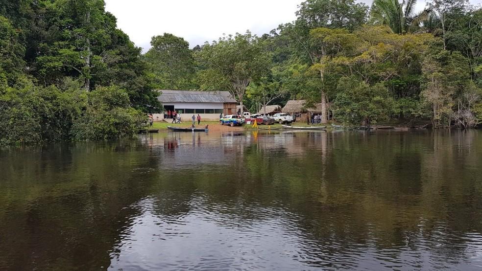 Resex do Rio Ouro Preto, em Guajará-Mirim, fronteira brasileira com a Bolívia. — Foto: Divulgação/Sedam