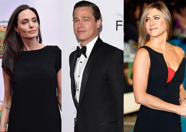 Angelina Jolie, Brad Pitt, Jennifer Aniston (Foto: Getty Images)