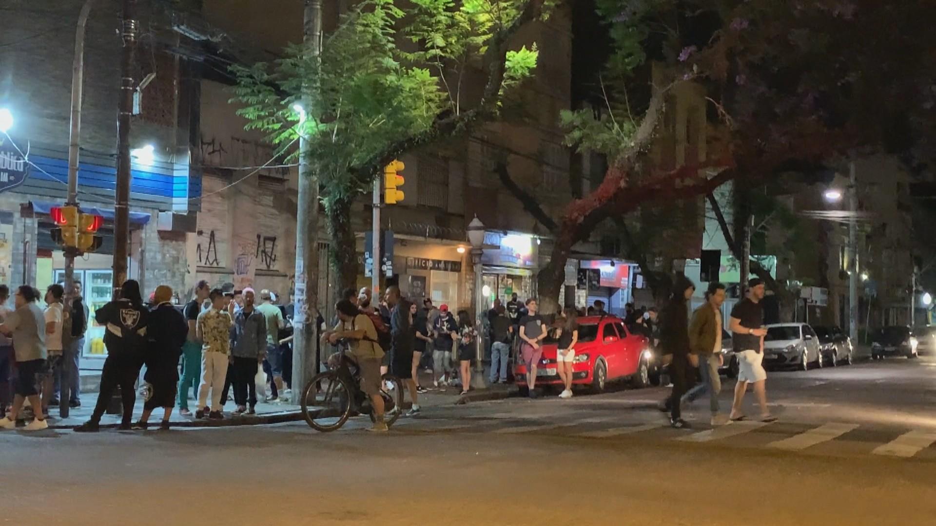 Guarda Municipal dispersa aglomerações em diversos pontos de Porto Alegre