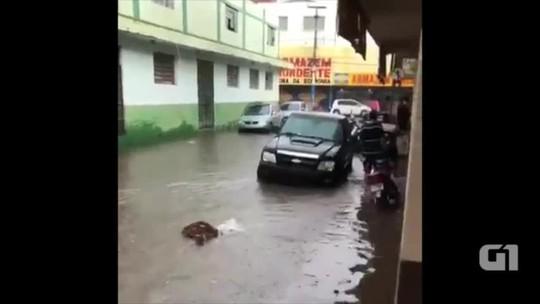 Municípios registram chuvas fortes e alagamentos na região Sul do Piauí