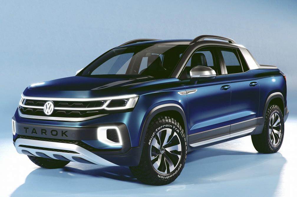 Volkswagen Tarok ainda é um conceito, mas deve chegar em breve ao mercado, de acordo com a marca — Foto: Divulgação/Volkswagen