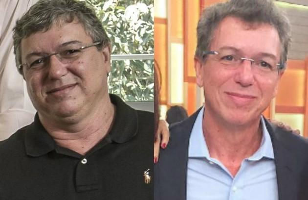 O diretor Boninho se submeteu a uma cirurgia bariátrica (Foto: TV Globo e reprodução)