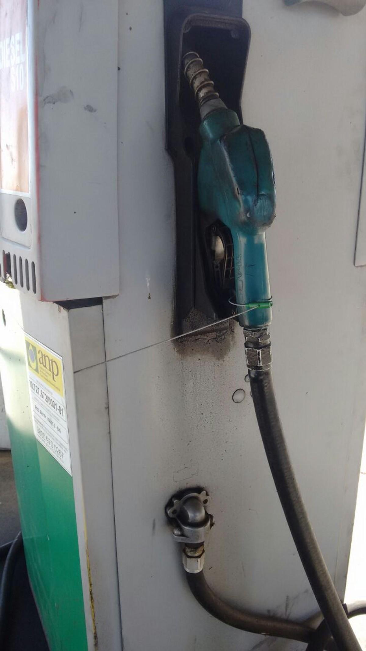 ANP interdita posto de combustíveis durante operação de fiscalização em Campos, no RJ