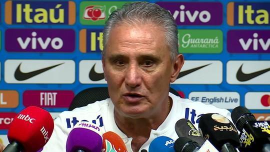 """Tite diz que ele e a Seleção buscam se reinventar e vê time """"alegre sem ser irresponsável"""""""