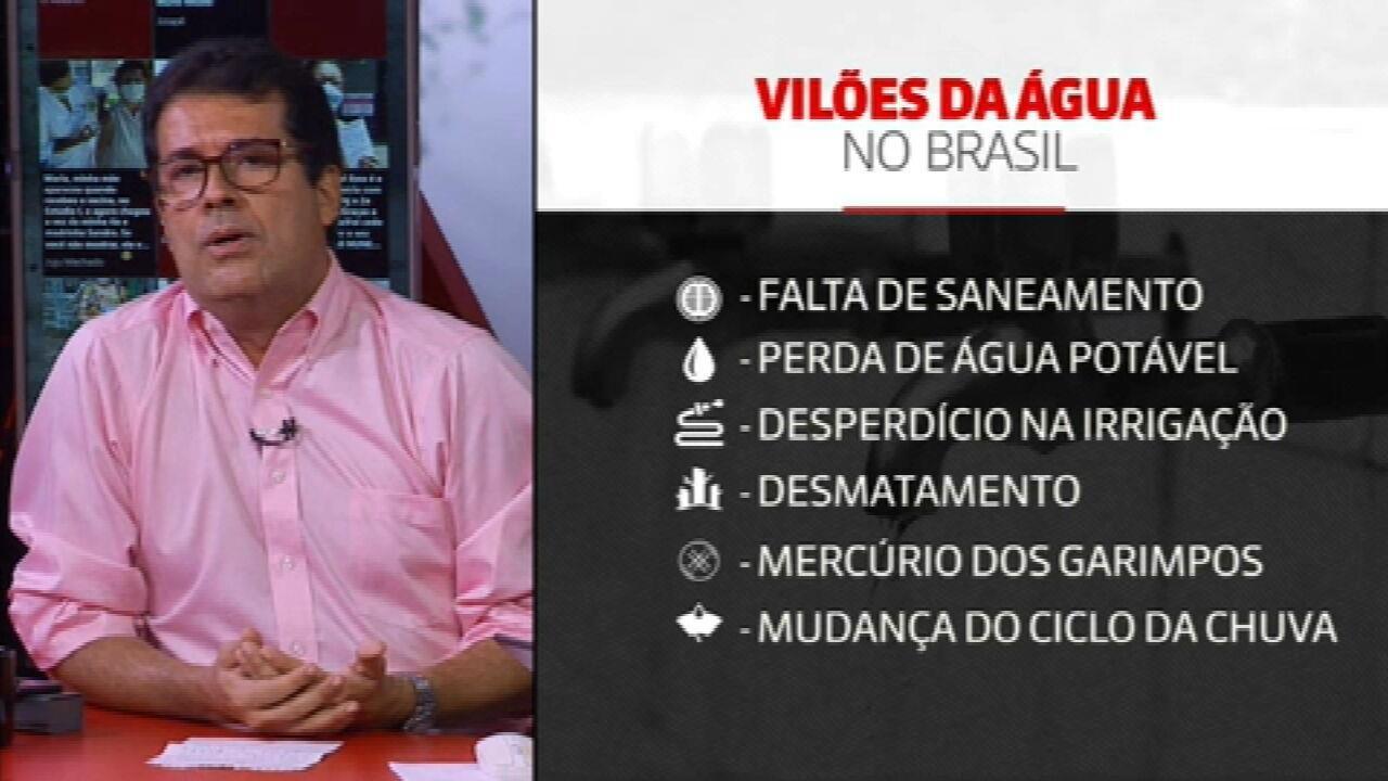Dia Mundial da Água: mais 5,5 milhões de brasileiros não têm acesso ao bem potável