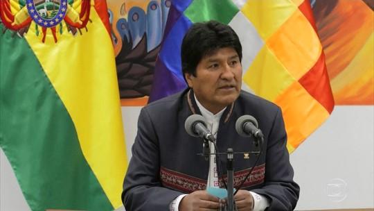 Evo Morales é reeleito na Bolívia no primeiro turno, indica apuração oficial