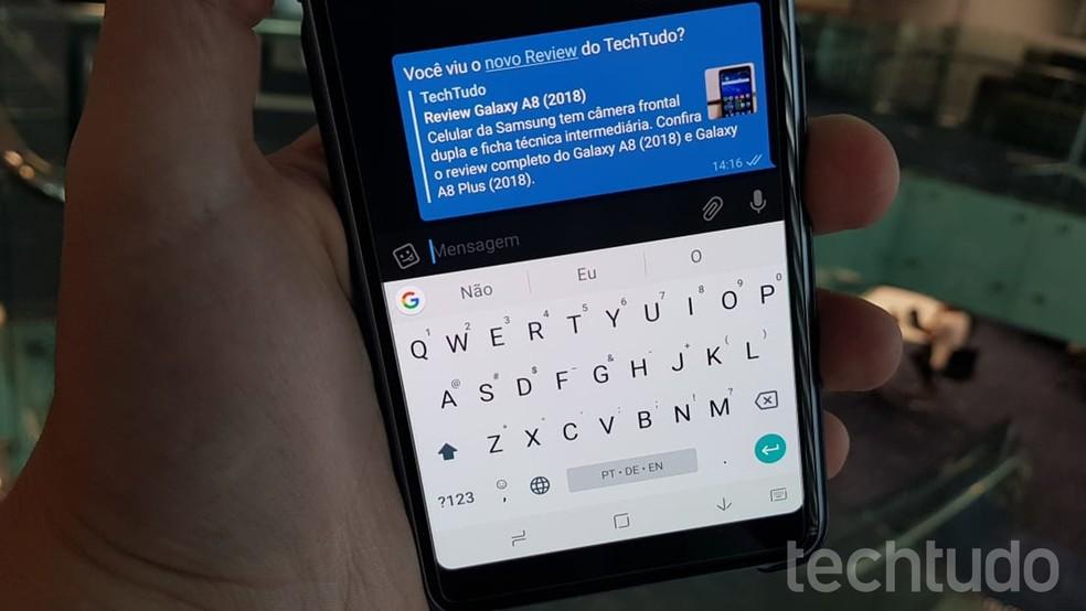Como criar links em conversas do Telegram para Android | Redes
