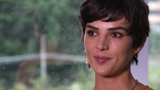 Monica Benini se emociona ao falar sobre tatuagem com Junior Lima