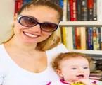 Juliana Baroni e a filha, Maria Eduarda | Arquivo pessoal
