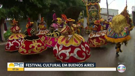 Encontro cultural em Buenos Aires estica a folia na Mata Norte de PE