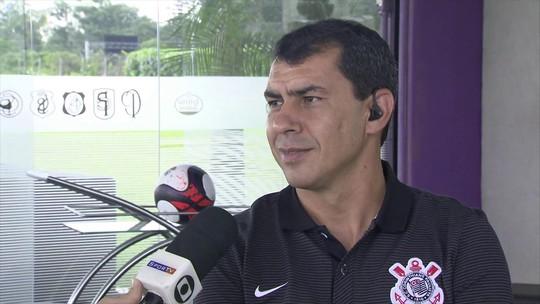 """""""Sempre ciente"""", Fábio Carille diz que concordou com chegada de Oswaldo"""