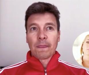 Rodrigo Faro em entrevista a Ana Hickmann | Reprodução/ YouTube