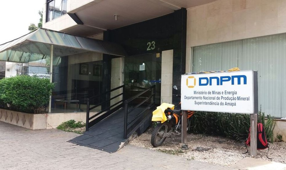 Sede do DNPM no Amapá, atual Agência Nacional de Mineração (ANM) (Foto: Jorge Abreu/G1)