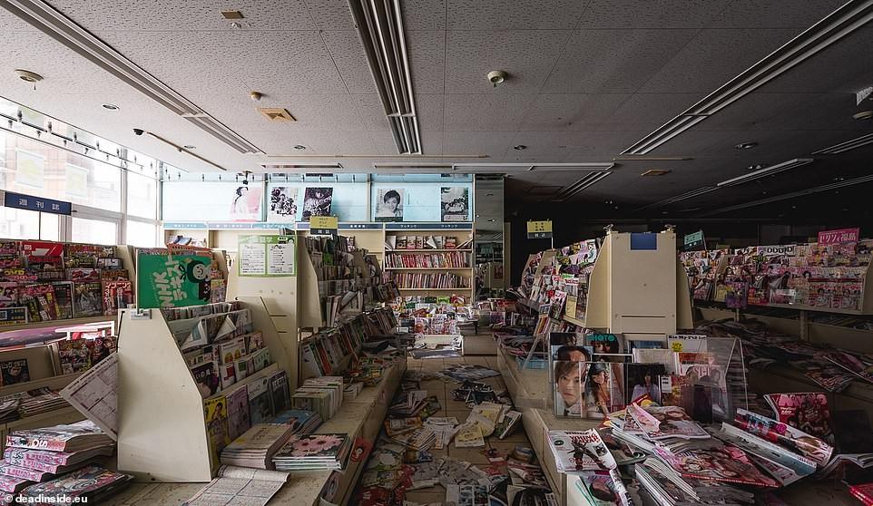 Fotos mostram devastação e prédios abandonados em Fukushima 8 anos após acidente nuclear (Foto: Dead Inside/Reprodução)