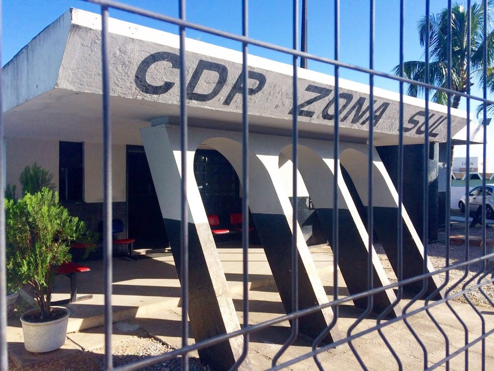 CDP Zona Sul, em Natal, foi desativado por falta de estrutura — Foto: Eduardo Rodrigues/Inter TV Cabugi