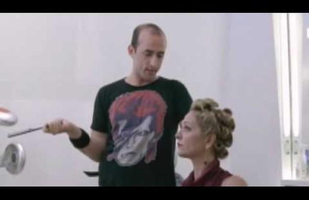 No filme 'Divã', de 2011, ele foi o cabeleireiro Renée (Foto: Reprodução)