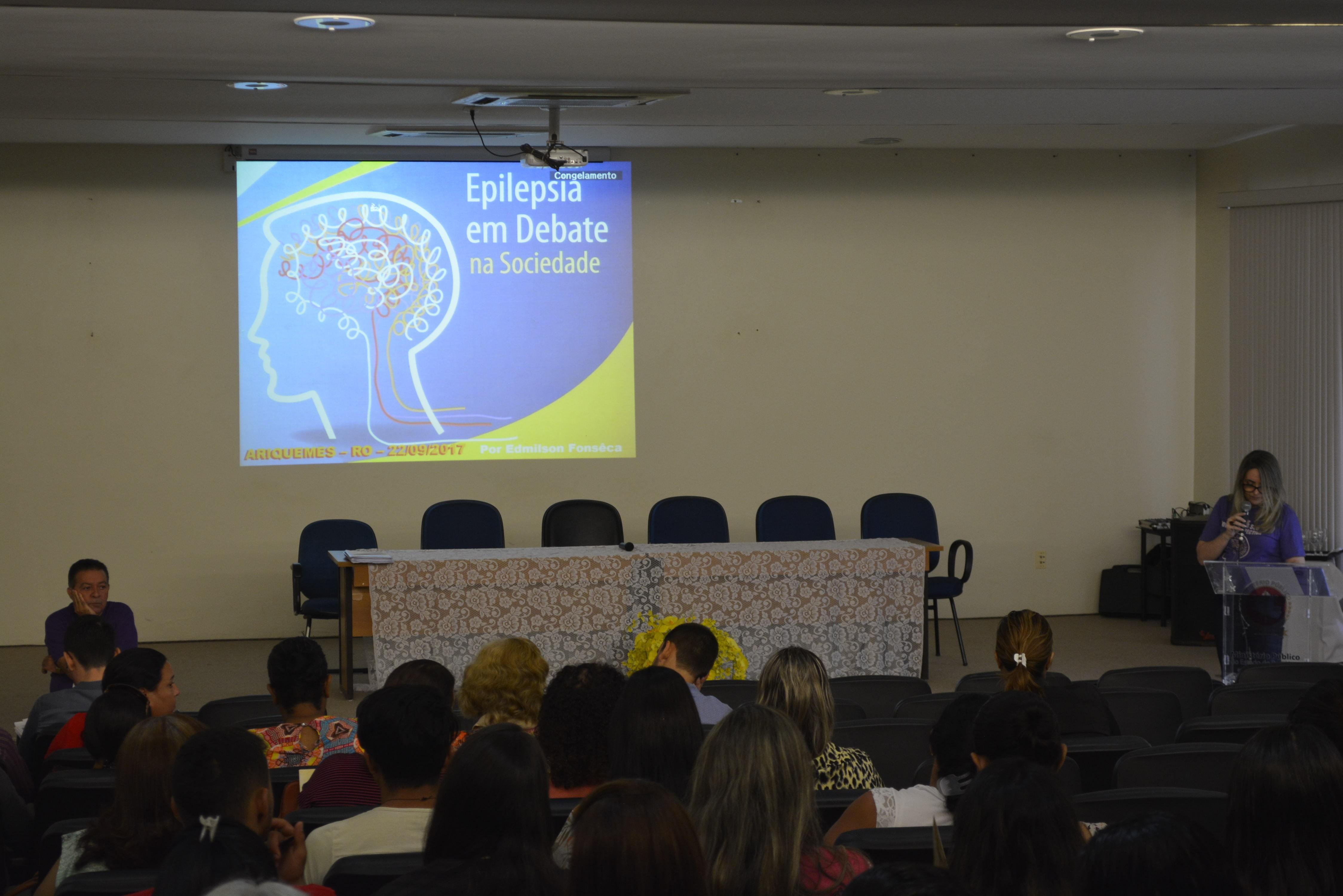 Com 42% de portadores com epilepsia no estado, palestra sobre a doença é realizada em Ariquemes, RO