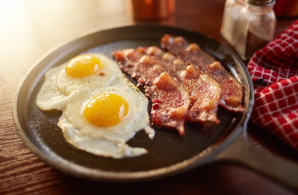 Ovos e bacon são liberados na dieta cetogênica (Foto: iStock Getty Images)