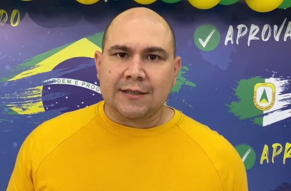Abílio Júnior, candidato a prefeito de Cuiabá — Foto: Divulgação