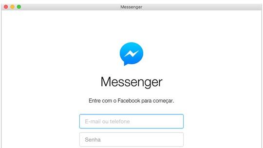 Messenger for Desktop | Download | TechTudo