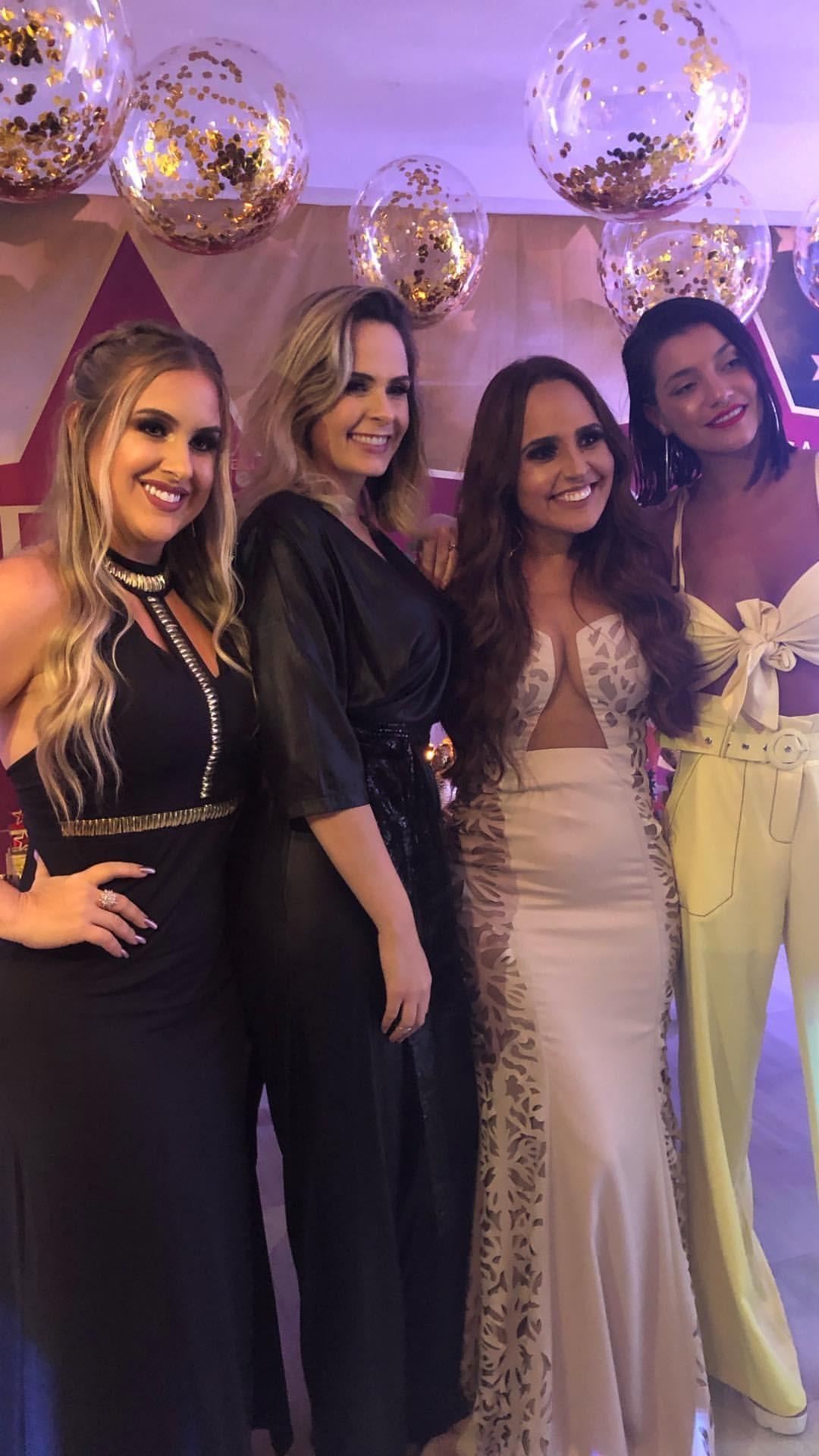 Patricia Leitte, Ana Paula Renault, Perlla e Gabrielle Prado  (Foto: Reprodução)
