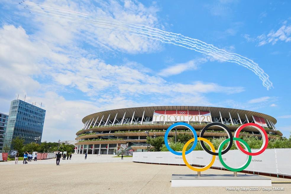 Olimpíadas de Tóquio registram mais de 150 casos de Covid-19 — Foto: Divulgação/Tóquio 2020