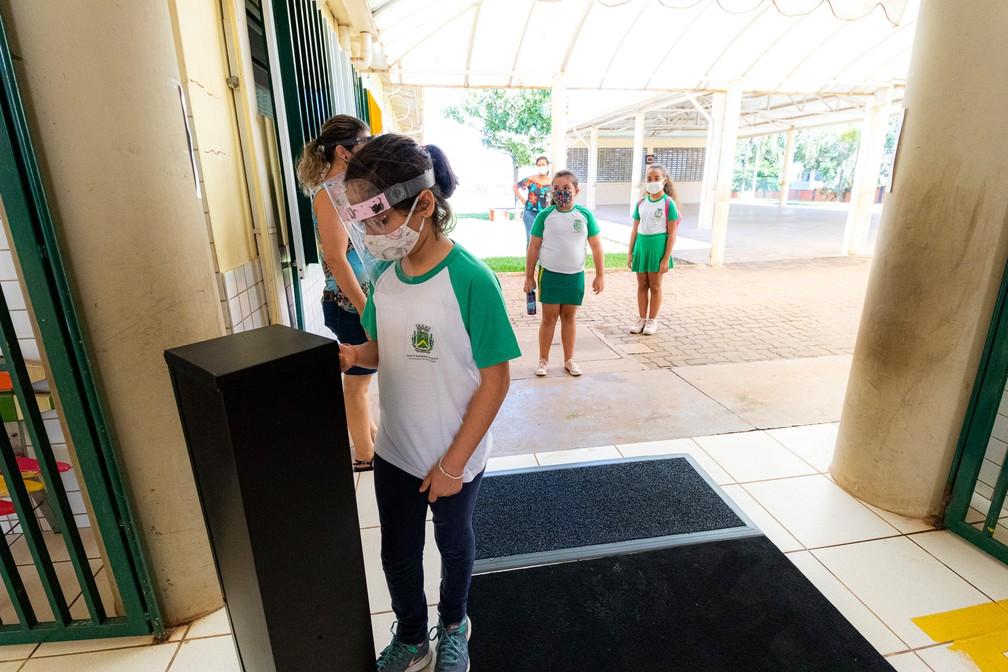 Aulas serão retomadas com protocolo de segurança contra a Covid-19 em Santa Bárbara — Foto: Divulgação/ Santa Bárbara d'Oeste