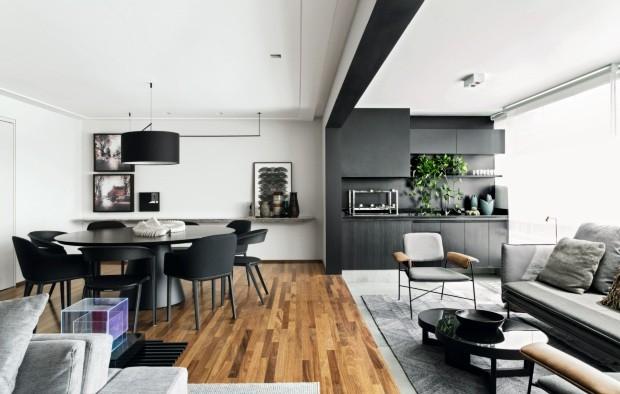 Apartamento paulistano. Projeto de Diego Revollo (Foto: Alain Brugier / Divulgação)