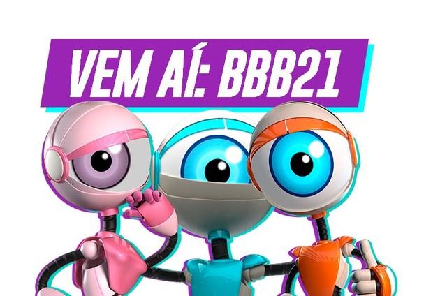 Logo do 'BBB' 21 (Foto: Reprodução)