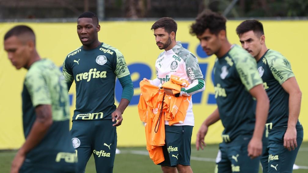 Carlos Martinho, auxiliar do Palmeiras — Foto: Cesar Greco / Ag. Palmeiras