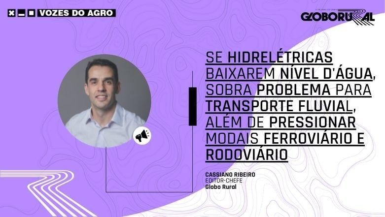 Cassiano Ribeiro - Vozes do Agro (Foto: Estúdio de Criação)