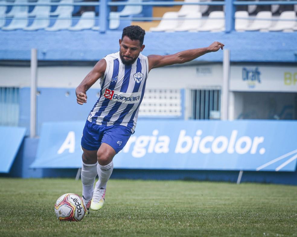 Mesmo reserva, atacante bicolor cresceu de produção nas últimas semanas — Foto: Jorge Luiz/Paysandu