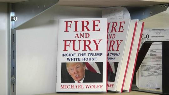 Trump tenta barrar lançamento de livro sobre seu governo