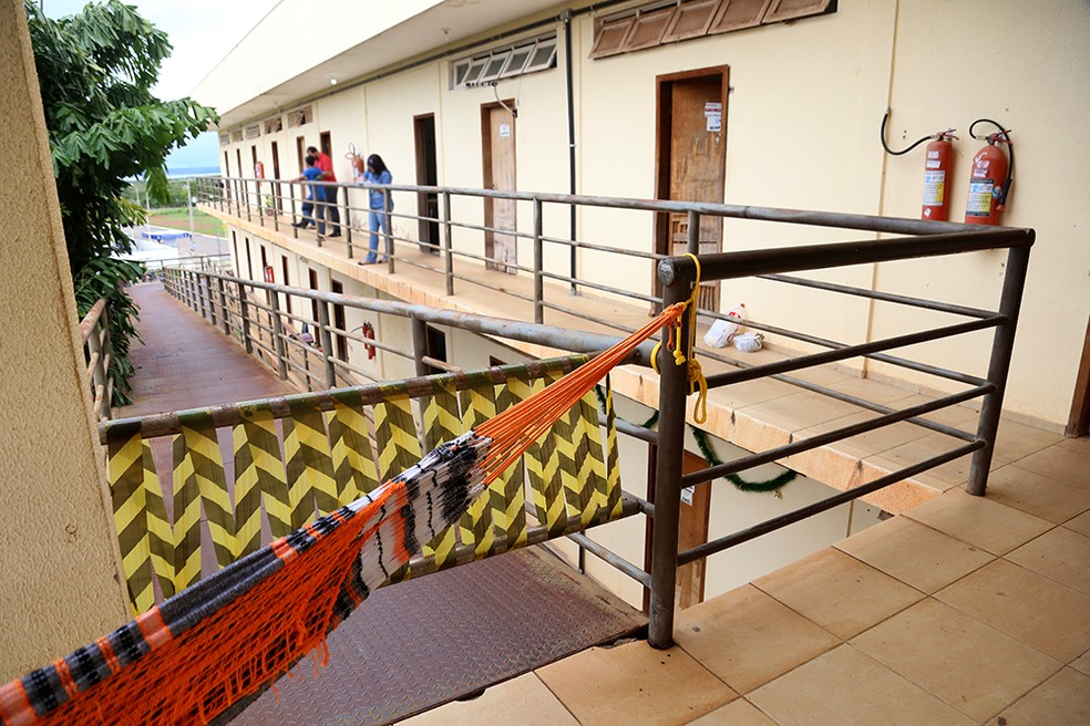 Casa do Estudante em Palmas continua com problemas na estrutura — Foto: Loise Maria/Defensoria Pública do Tocantins