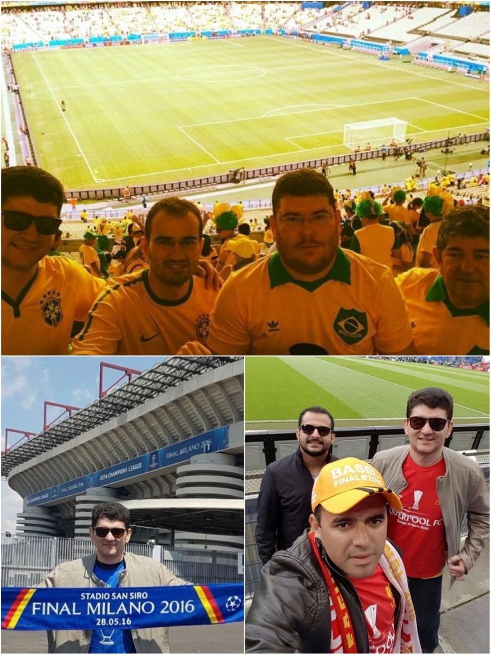 Amigos caçam aventuras no futebol   (Foto: Arquivo Pessoal )