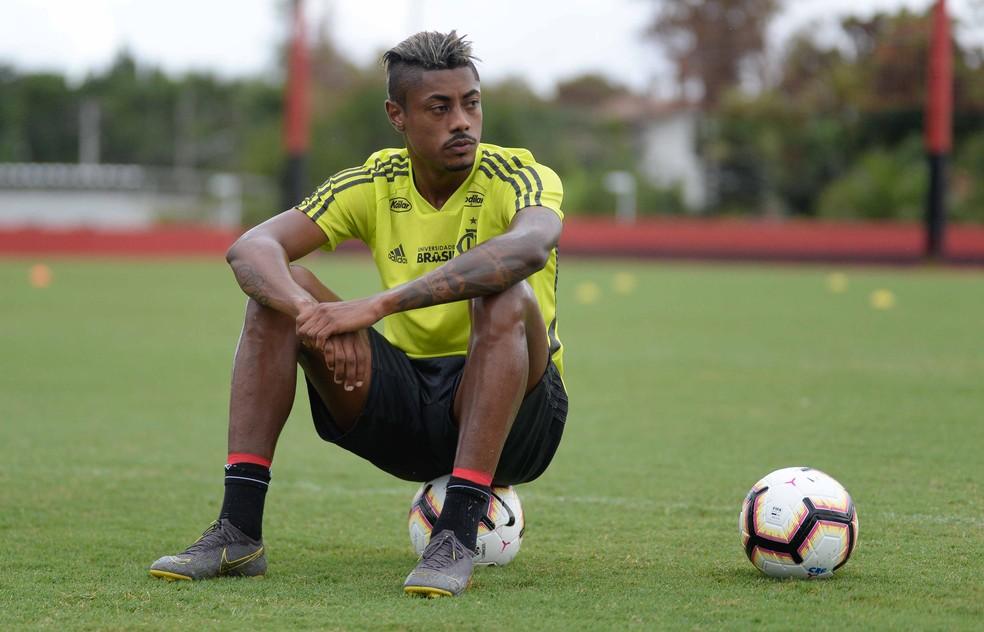 Bruno Henrique, atacante do Flamengo — Foto: Alexandre Vidal/Flamengo