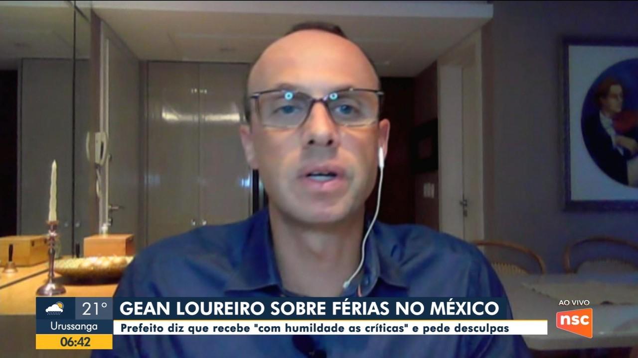 Prefeito de Florianópolis tira férias no México em meio à pandemia da Covid-19