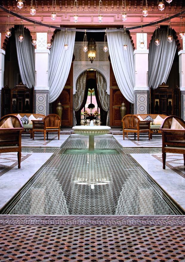Hotel Royal Mansour, em Marrakech (Foto: Divulgação)