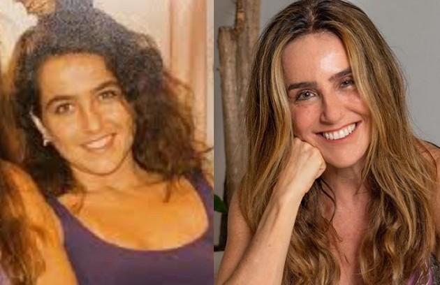 Monique Curi viveu Lídia, irmã de Helena, filha de Ataxerxes (Umberto Magnani) e Ametista (Ariclê Perez). A atriz hoje é youtuber (Foto: Reprodução)