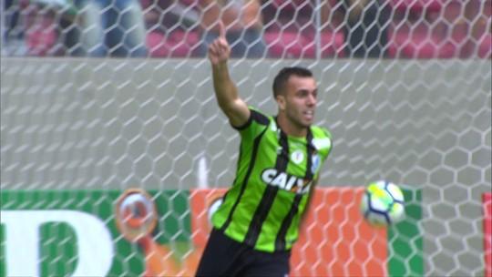 Os gols de América-MG 3 x 0 Sport pela 1ª rodada do Campeonato Brasileiro