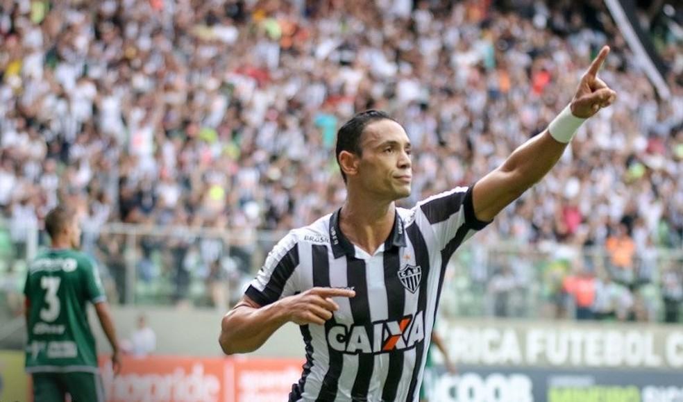 Ricardo Oliveira teve contrato encerrado com o Santos, não renovou e optou pelo Atlético-MG (Foto: Bruno Cantini/ Atlético-MG)