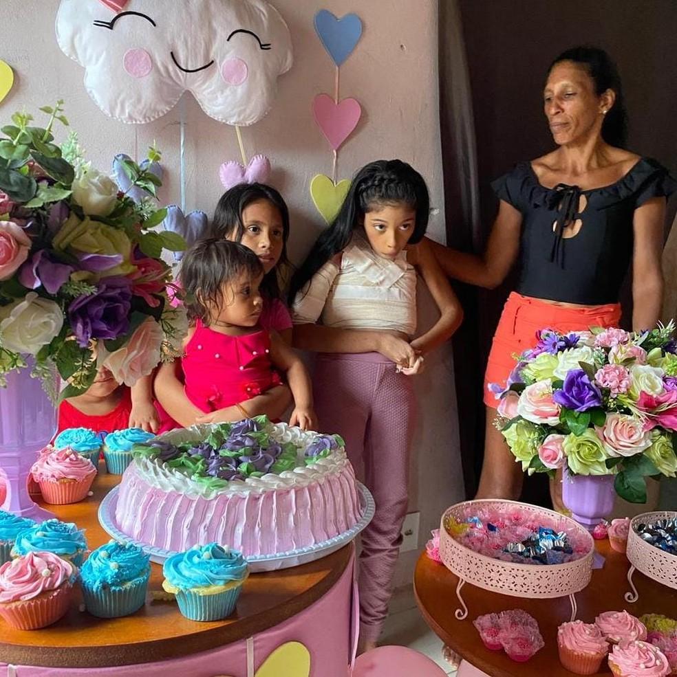 Vitória fez 11 anos em maio deste ano — Foto: Arquivo pessoal