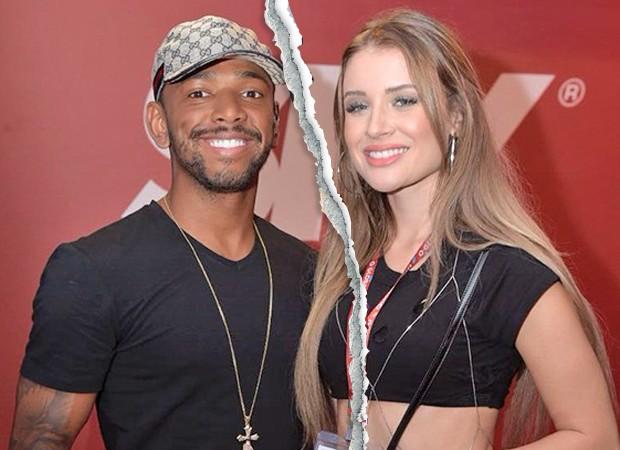 Nego do Borel e Julia Schiavi (Foto: Selmy Yassuda/ Ed. Globo)