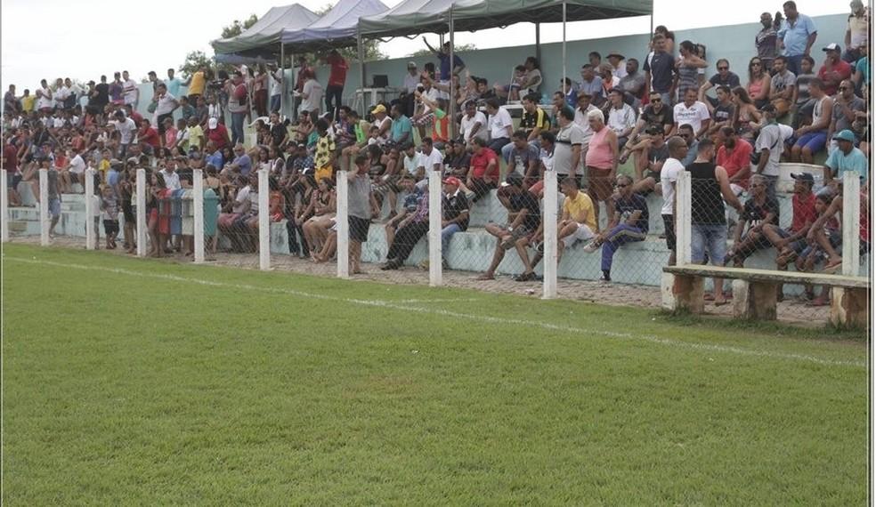 Estádio Leyvalmir, em Lavandeira — Foto: Ascom Prefeitura de Lavandeira/ Divulgação