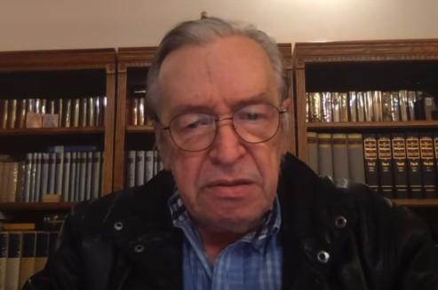 Olavo de Carvalho sinaliza rompimento com Bolsonaro
