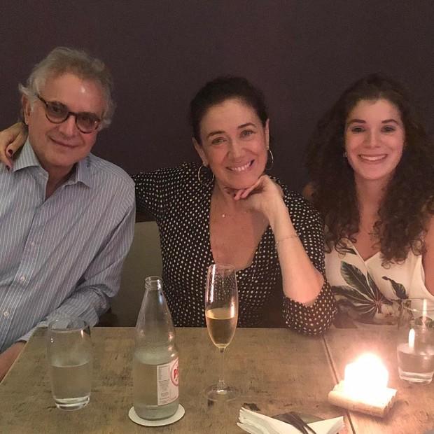 Iwan, Lilia e Giulia (Foto: Reprodução/Instagram)