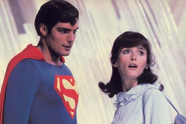 Christopher Reeve e Margot Kidder em 'Superman' (Foto: Divulgação)